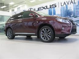 lexus rx 350 for sale in quebec 2013 lexus rx 350 f sport navigation gps used for sale in