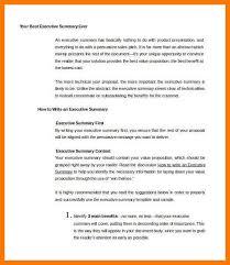 4 example executive summary park attendant