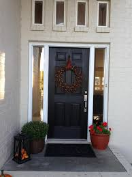 Choosing Front Door Color by Perfect Bm Glossy Black Shade For Front Door Pertaining To Black