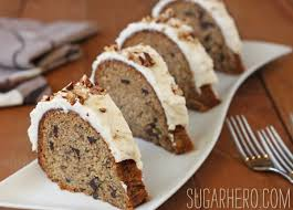 roasted banana bundt cake sugarhero