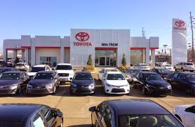 toyota car dealership about us van trow toyota