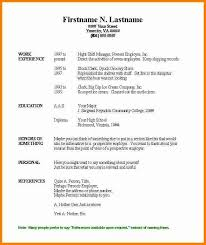acting resume template for microsoft word resume template