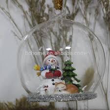 glass reindeer inside ornaments buy glass