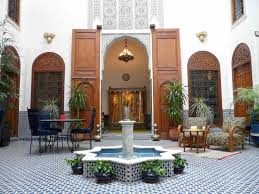 moroccan riad floor plan nature 2 groundswell