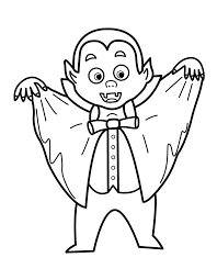 vampire printable halloween coloring pages vampire minion coloring