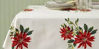 christmas tablecloth vintage christmas tablecloths and linens collecting vintage