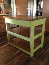 simple kitchen island ana white build a rustic x small rolling kitchen island free and