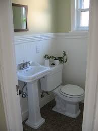 Half Bathroom Remodel by Remodelaholic Complete Half Bath Remodel Guest