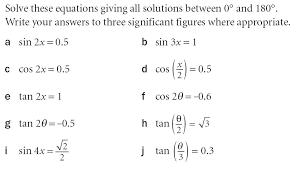 c2 solving trigonometric equations maths teaching