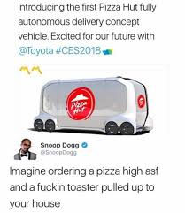 Delivery Meme - dopl3r com memes introducing the first pizza hut fully
