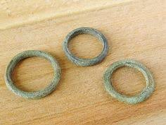 celtic ring money set of 3 celtic rings money 200bc and 300ad bronze metal tree