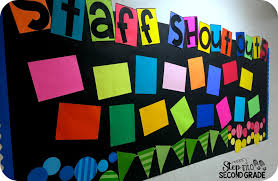 bulletin boards step into 2nd grade