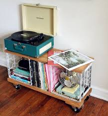 Lp Record Cabinet Furniture Best 25 Record Cabinet Ideas On Pinterest Record Storage Diy
