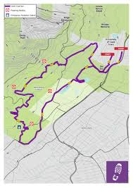Map Run Route by Routes For Trail Runs Old Mutual Two Oceans Marathon