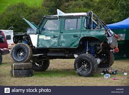land rover 110 truck highly modified 4x4 land rover defender 90 for extreme offroading