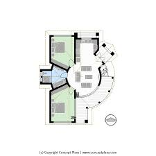 concept plans 2d house floor plan templates in cad and pdf format