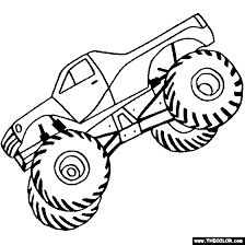 monster trucks coloring pages free design free coloring