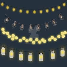 Outdoor Lighting String Bulbs by Outdoor String Lights Clipart By Starshinesuckerpunch On Deviantart