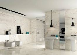 luxury marble bathroom white porcelain bathroom floor tile