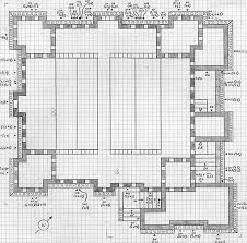 castle floor plans minecraft minecraft castle floor plans blueprint pinteres