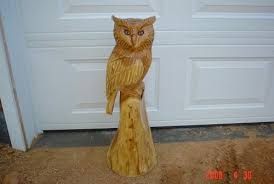great wood carvings owls chainsaw carving chain saw sculpture