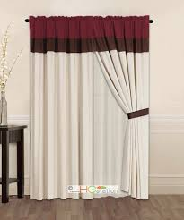 modern shower curtains with valance