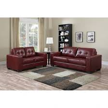leather sofa free delivery brassex metro burgundy leather sofa free shipping today