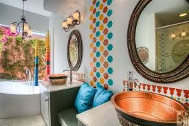 Interior Design Palm Desert by Palm Desert Modern Moroccan Bath Eclectic Bathroom Moroccan