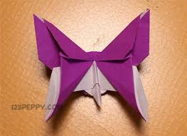Butterfly Crafts For Kids To Make - how to make origami butterfly online 123peppy com