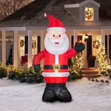 christmas inflatable christmasations amazon com beistle tree