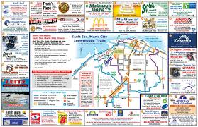 Snowmobile Trail Maps Michigan by City Trail Info Sault Ste Marie Snowmobile Association