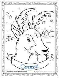 reindeer coloring pages printable rudolph red nosed