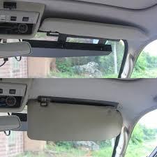 mirror mount beacon lights red led lightbar visor light windshield emergency hazard warning