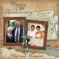 50th wedding anniversary photo album 8 best scrapbooking images on scrapbook layouts