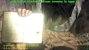 me a map of arkansas ark survival evolved cave locations xyz and map