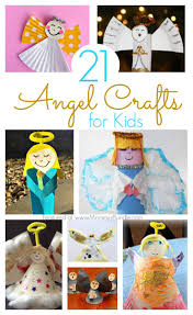 21 angel crafts kids can make at christmas angels crafts and kid