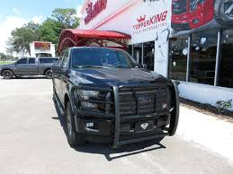 Ford F150 Truck Interior Accessories - blacked out 2017 ford f150 with grille guard topperking