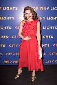 city of tiny lights billie piper at the city of tiny lights screening at bfi southbank