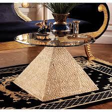 great egyptian pyramid of giza sculptural glass topped table for great egyptian pyramid of giza sculptural glass topped table