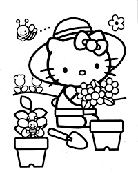 77 coloriages images kitty images