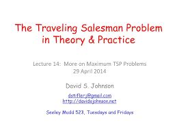 Wisconsin traveling salesman images The traveling salesman problem in theory practice ppt video jpg