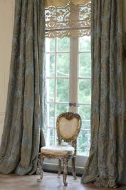 Antique French Lace Curtains by A Step Back In Time A French Chateau By Kara Childress Inc
