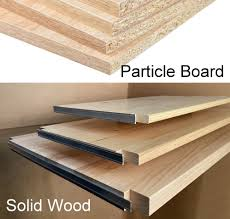 what is the difference between mdf and solid wood see the difference with our toxic free solid wood shelves