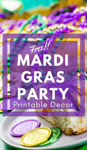 mardis gras party ideas mardi gras party ideas free mardi gras printable decor
