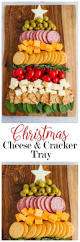 christmas tree cheese and cracker tray beautiful christmas trees