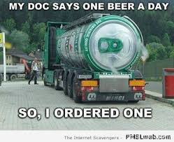 Funny St Patrick Day Meme - 26 one beer a day meme pmslweb