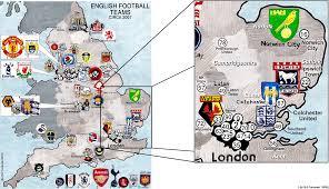Hertfordshire England Map by England U0027s Regions Billsportsmaps Com