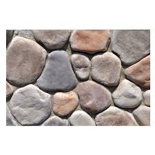 Lowes Pebble Rocks by Shop M Rock Clearwater Stone Veneer At Lowes Com