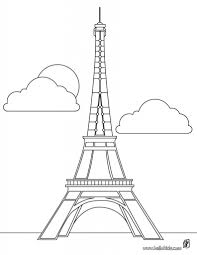 cartoon drawing of eiffel tower eiffel tower cartoon clip art