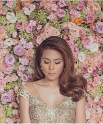 bridal hairstyle for reception bridal hairstyles to try inspired by toni gonzaga soriano u0027s u0027dos